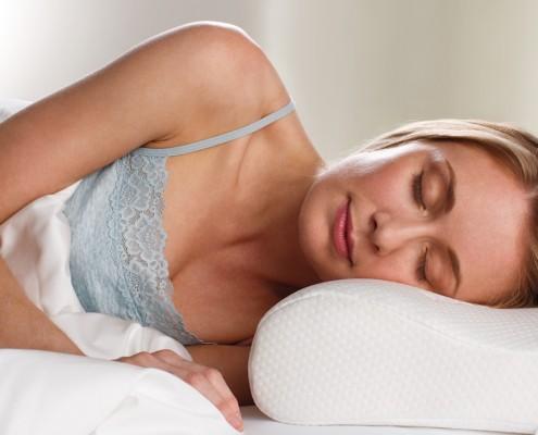 Bettenmeier – Nackenstützkissen und Schlaftiere – ergonomisches Kissen